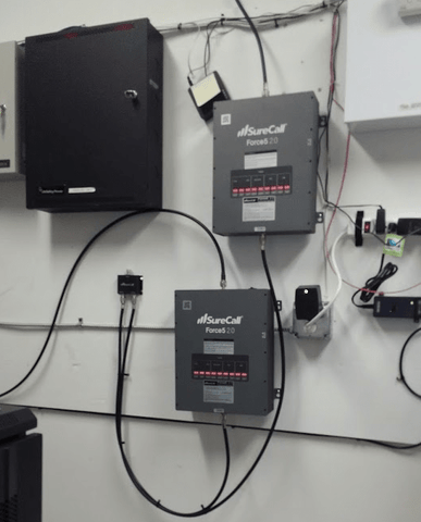 Texas Manufacturing Facility Signal Booster Installation Case Study