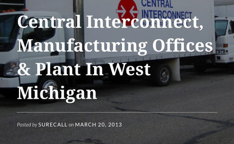 West Michigan Manufacturing Company Installs SureCall Force5 Booster.