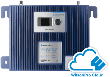 WilsonPro Cloud Service & Pro 1000C Cloud-Managed Cellular Amplifier
