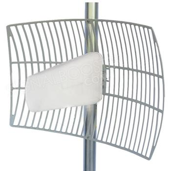 What are Dish/ Grid Parabolic Antennas for Cell Phone Signal Boosters?