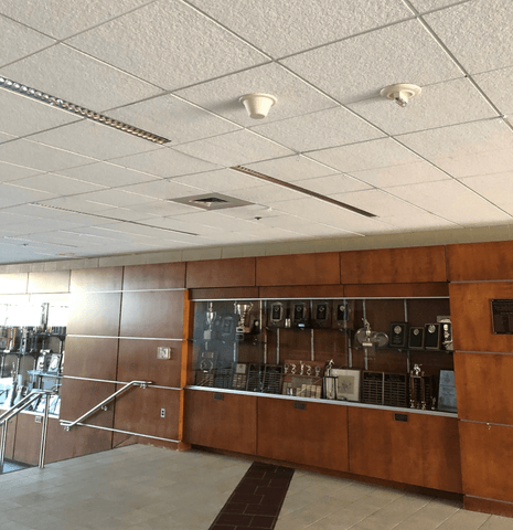 Cell Phone Signal Reception Problem Solved in Athletic Center