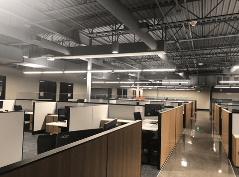 Cell Phone Signal Reception Problem Solved in Two Story Office Building