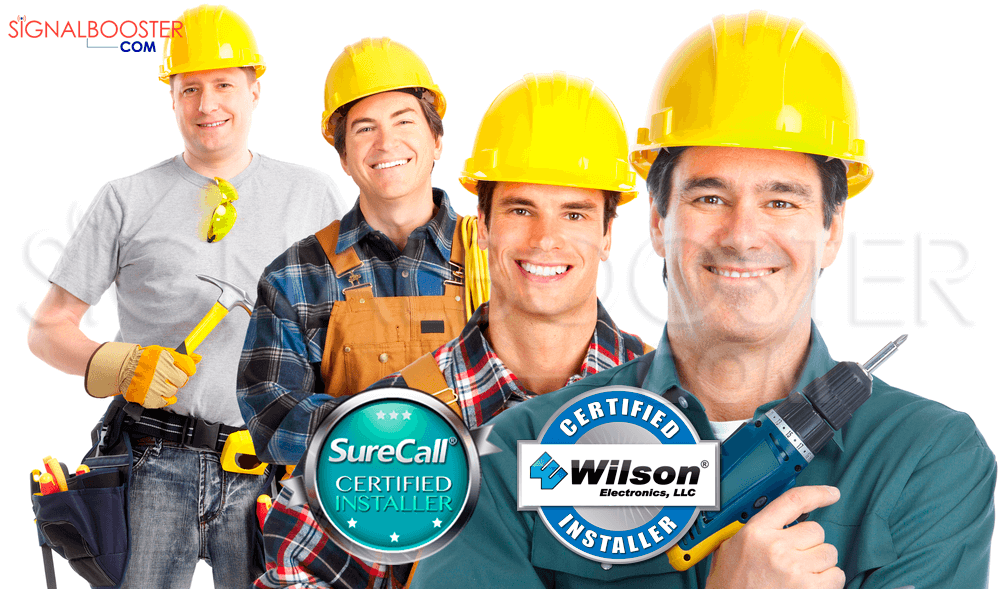 Certified Cell Phone Signal Booster Installers