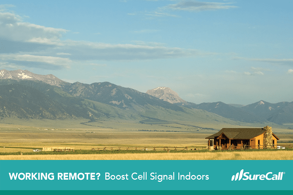 Continue Working Remotely with Help of Cell Phone Signal Booster