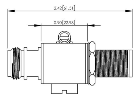 Dimensioned drawing or CAD model