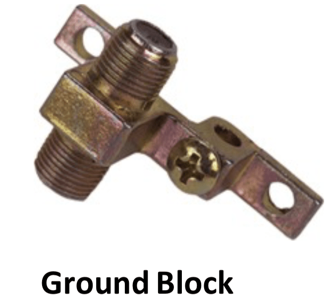 Ground Block For Grounding Wire