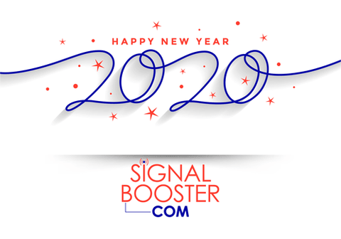 Happy 2020 - Signal Booster Dot Com