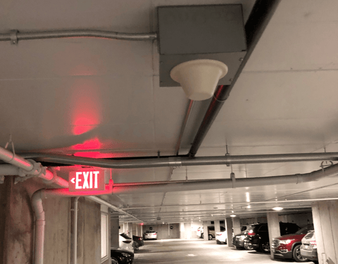 Indoor Signal Broadcast Ceiling Antenna Installed Professionally