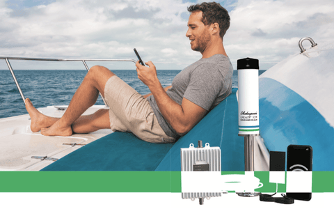 Small Boat Cellular Signal Booster