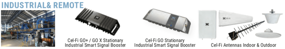 Smart Booster Industrial and Remote Applications