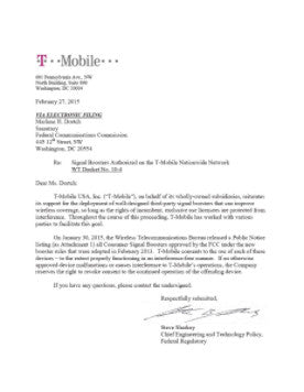 T-Mobile Signal Booster Approval.