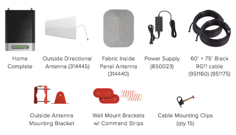 weBoost Home Complete Kit Contents