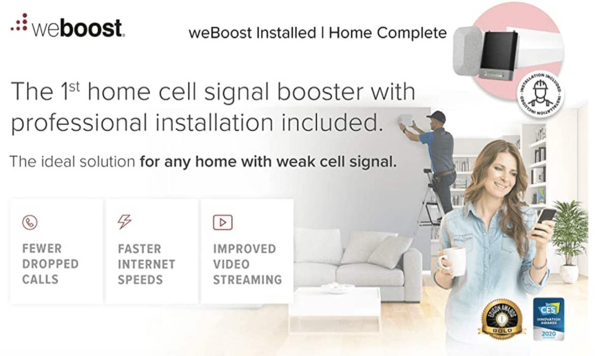 weBoost Installed Home Complete 474445 Summary