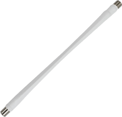10 Inches Window Entry Flat Cable with F-Female Connectors (75 Ohm)