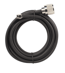 10 ft. RG58 Low-Loss Foam Coaxial Cable with N-Male to SMA-Male Connector