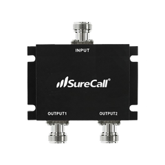 White Sure Call SC-100-S Short SureCall Dual Band Omni-Directional 50 Ω Outdoor Antenna with N-Female Connector