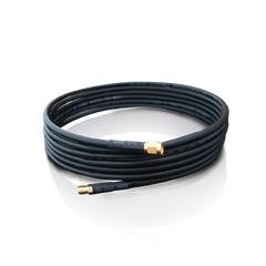 Antenna Extension Cable - 10 ft., 50 Ohm with RP-SMA and RJ-SMA Connectors
