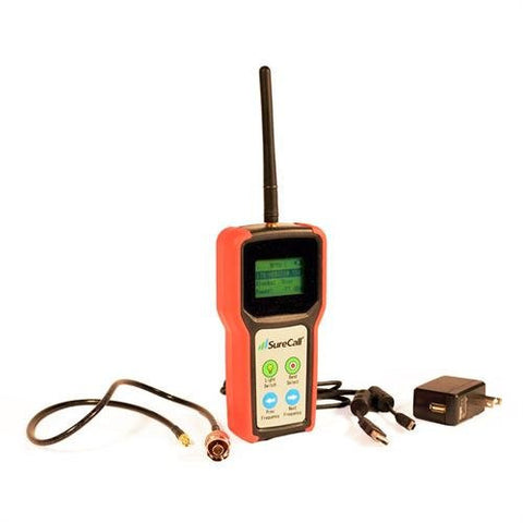 Buy or Rent as Loaner: RF Signal Meter or Spectrum Analyzer to detect  reception