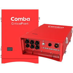 Comba CriticalPoint Public Safety Fiber DAS Class B 700/800MHz Master Unit (DC) with 4 optical ports, 3 sub-bands per band, -48VDC