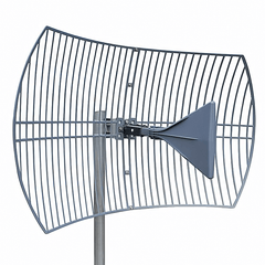 Directional Parabolic Grid Antenna For Cell Phone & WiFi