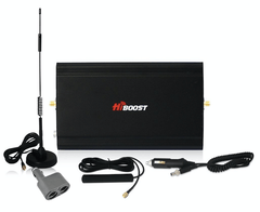 HiBoost Travel 3G 4G LTE Car Mobile Signal Booster Kit | C27G-5S