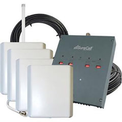 SureCall DualForce 3G Omni + 4 Panel Antenna Booster 25000 Ft²