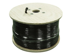 1000' SureCall 400 Coaxial Cable (Black Thousand Feet Coax Cables)