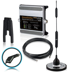 SmoothTalker RV X6 Pro 50 or 55 dB Cell Signal Booster (3G, 4G, LTE, 6 Band) w/ 14 in. Large Base Magnet Antenna