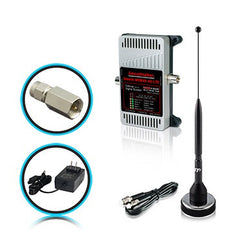 SmoothTalker Stealth M2M X6 Direct Connect 3G 4G LTE 6 Band Booster w/ SMA Connector + 11 inches Magnetic Antenna + 120V Wall Power Supply