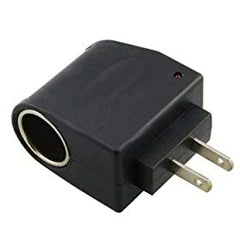 110V AC to DC 12V Converter with Car Adapter Socket (1 Amp / 1000 mA)