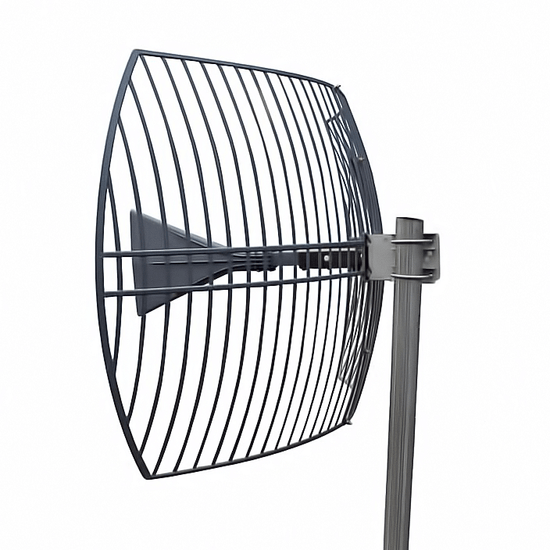 Cell Phone & WiFi Antenna (Directional Parabolic Grid Antenna)