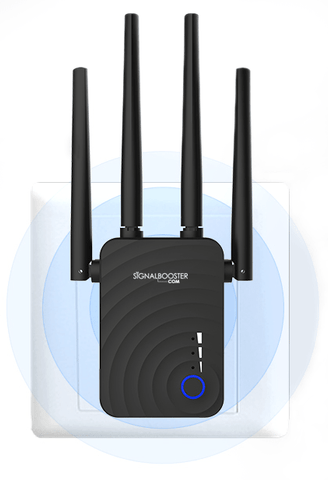 Wireless Extender & Router (2 4 & 5 8 GHz, 1200 Mbps) - WiFi Signal  Booster, Amplifier, Repeater