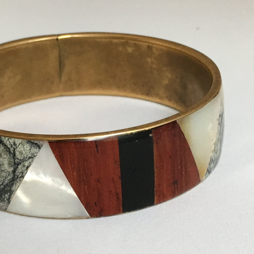 Boho - Multi Media - Mosiac Bangle