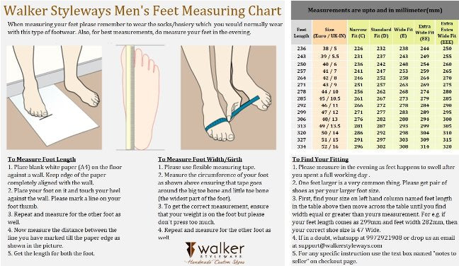 Why Feet Measurements are Important to get Perfect Custom Made Shoes?