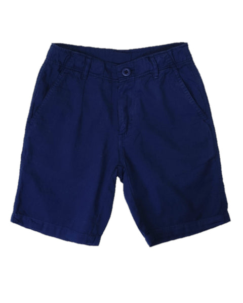 Jack Thomas Twill Patriot Navy Shorts
