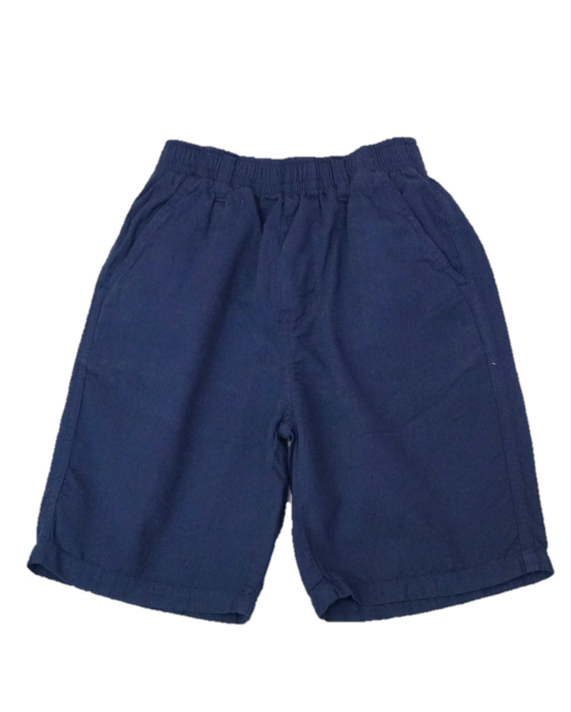 Jack Thomas Navy Pull-On Shorts
