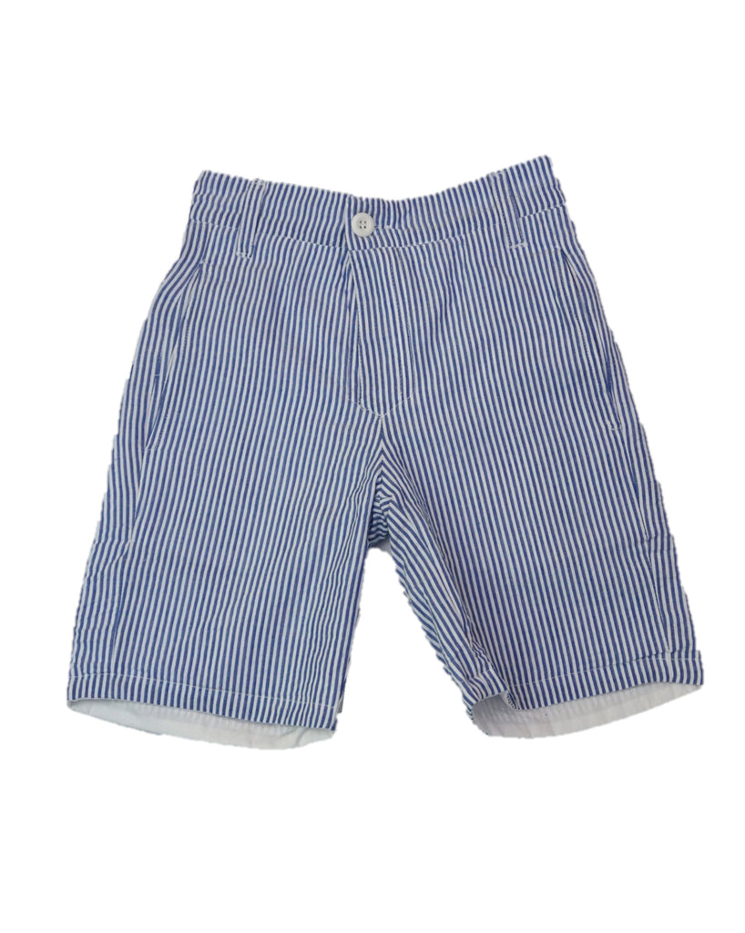 Jack Thomas Seersucker Shorts