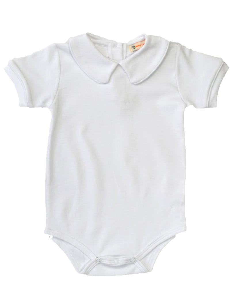 Luigi Pima Cotton White Body Suit