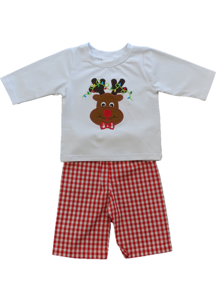 Reindeer Applique Outfit