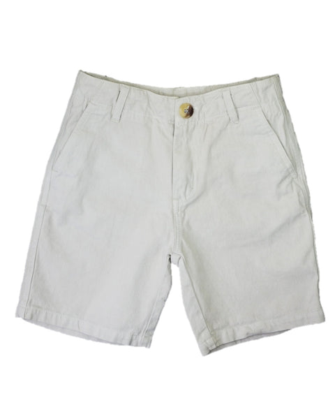 Jack Thomas Twill Tan Shorts