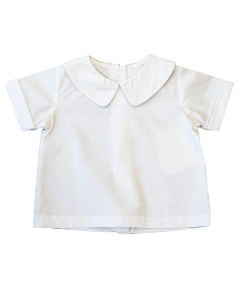 Three Sisters White Collared Shirt