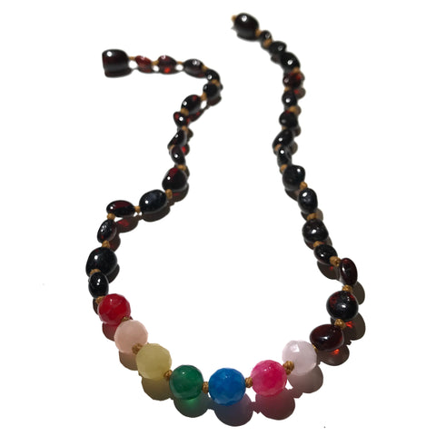 Gumdrop Rainbow Necklace
