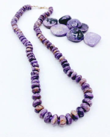 Charoite Candy Necklace