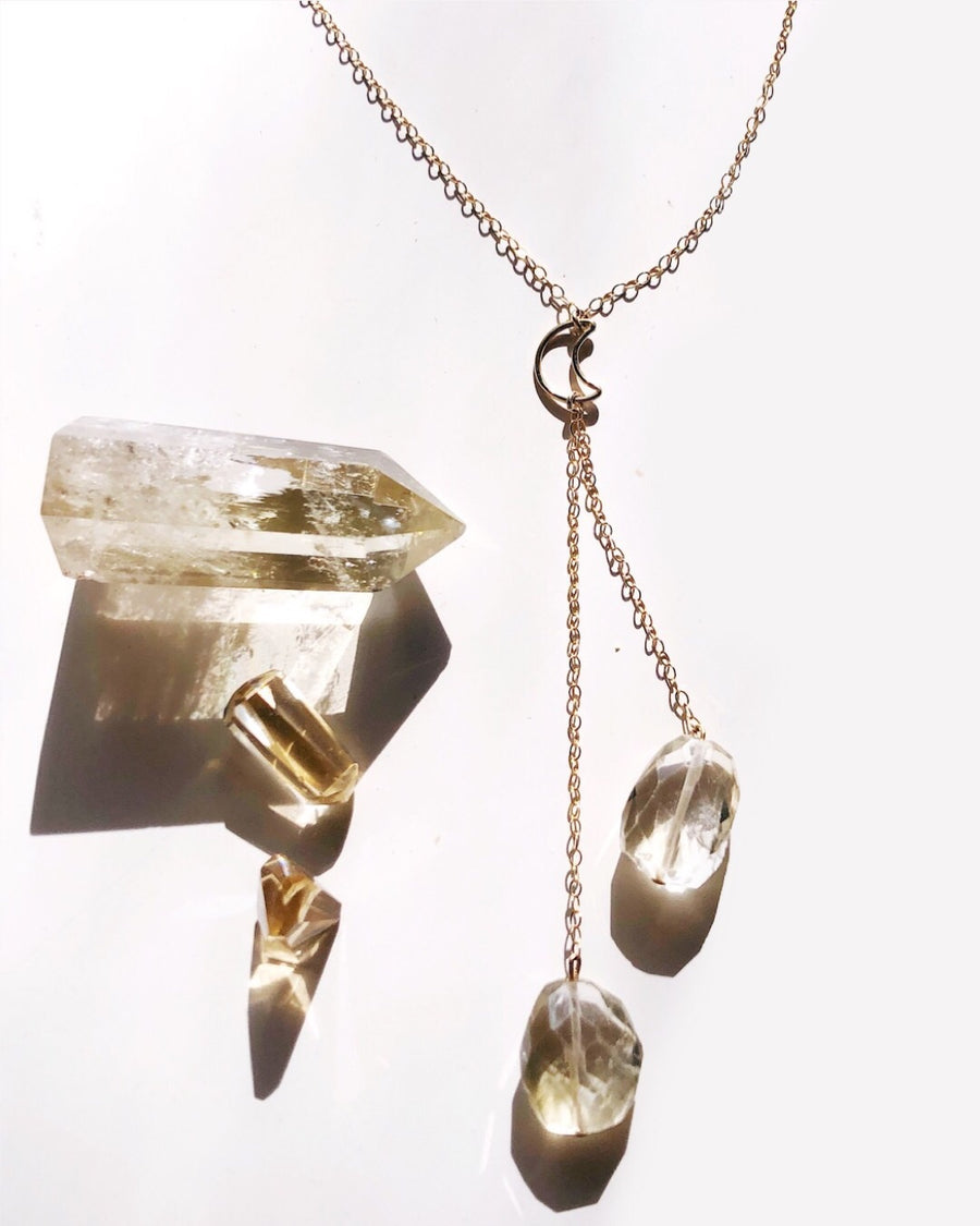 Citrine Moon Lariat