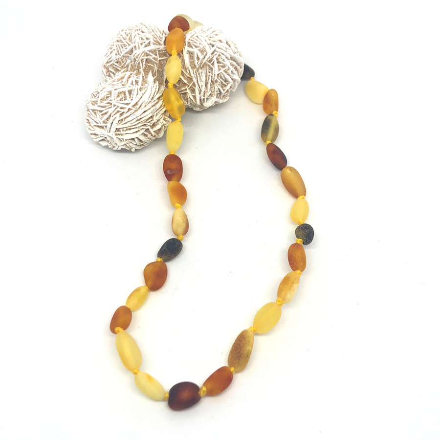 Unpolished Multi Necklace