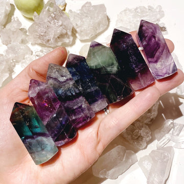 Little Fluorite Towers