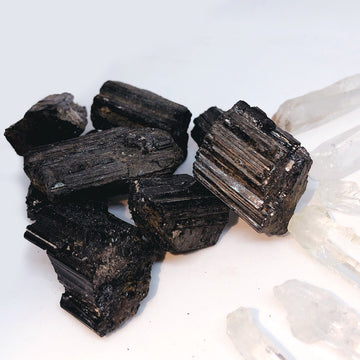 Raw Black Tourmaline