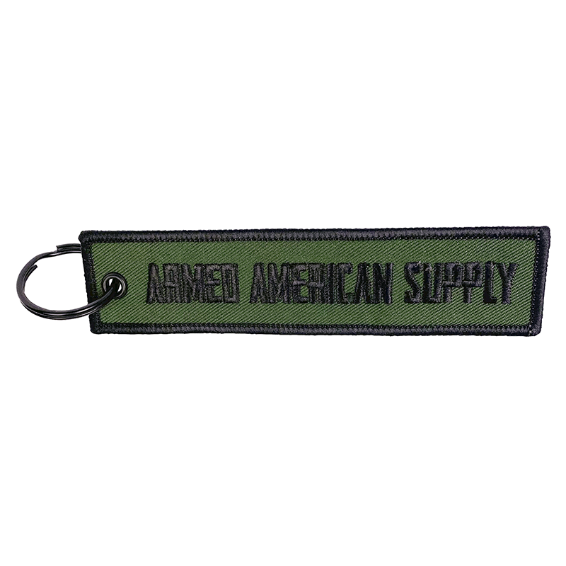 Green - AAS Key Tag