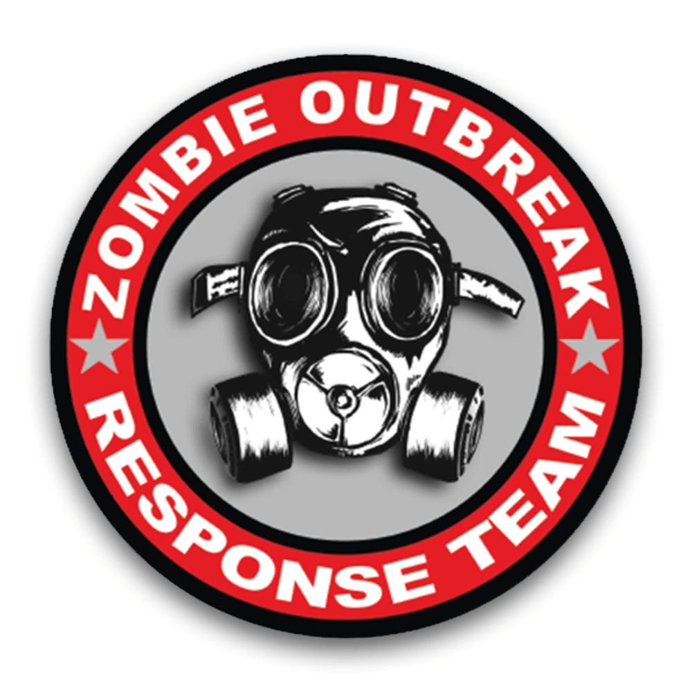 Zombie Outbreak Decal - Armed American Supply