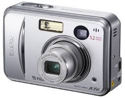 Fujifilm Finepix A345 4.1MP Digital Camera with 3x Optical Zoom